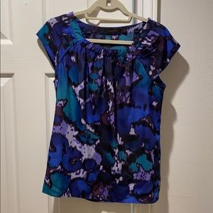 The Limited multicolored blouse